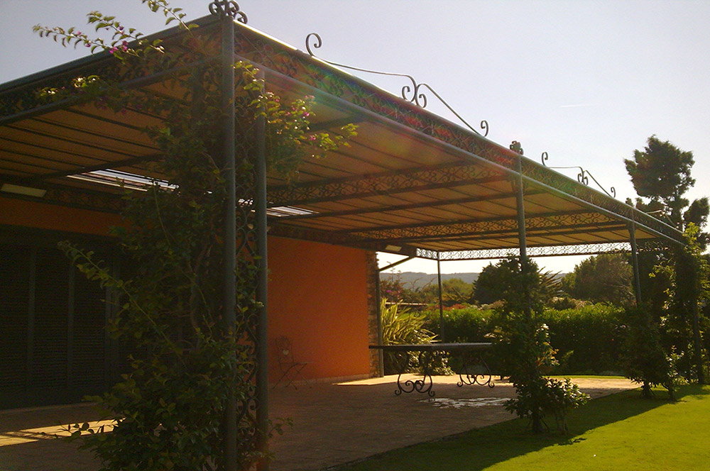 Commercial awnings and canopies