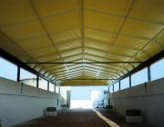 Commercial awning by Almax
